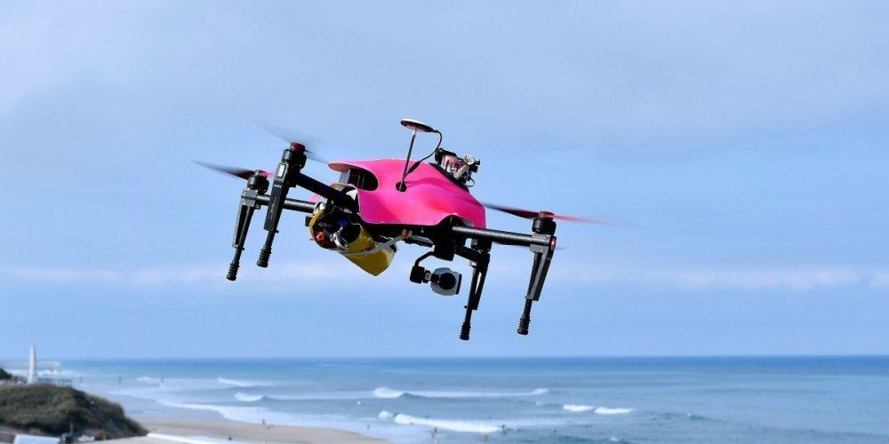 Helper, le drône sauveteur lauréat du Concours Lépine...