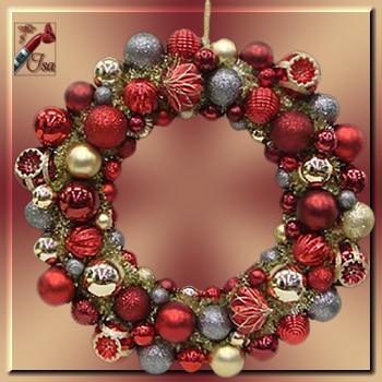 DN0028 - Tube couronne de Noël