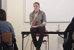 Stéphane Allix était à Perpignan le 28 février 2016