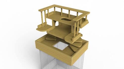Example de cage