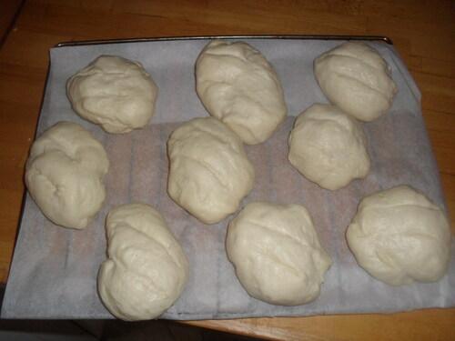 Des petits pain au lait pour le petit déjeune