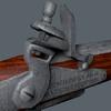 pistolet vue du système d'armement