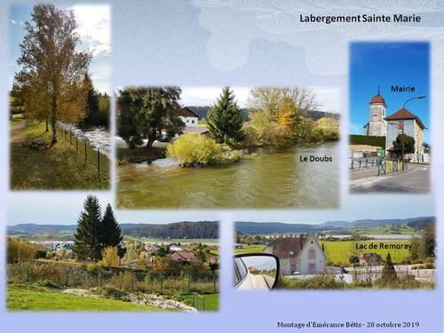 Le tour du lac de Saint-Point
