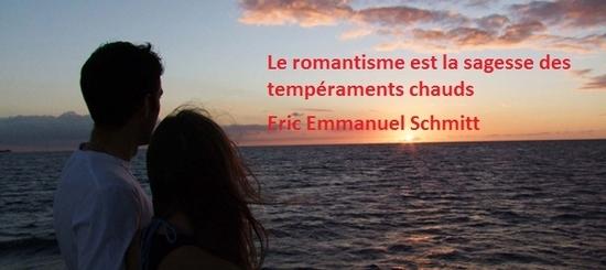 le romantisme est la sagesse