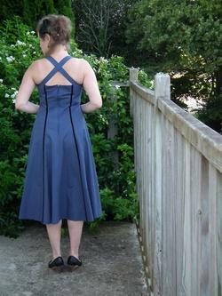 Robe 50's bleue