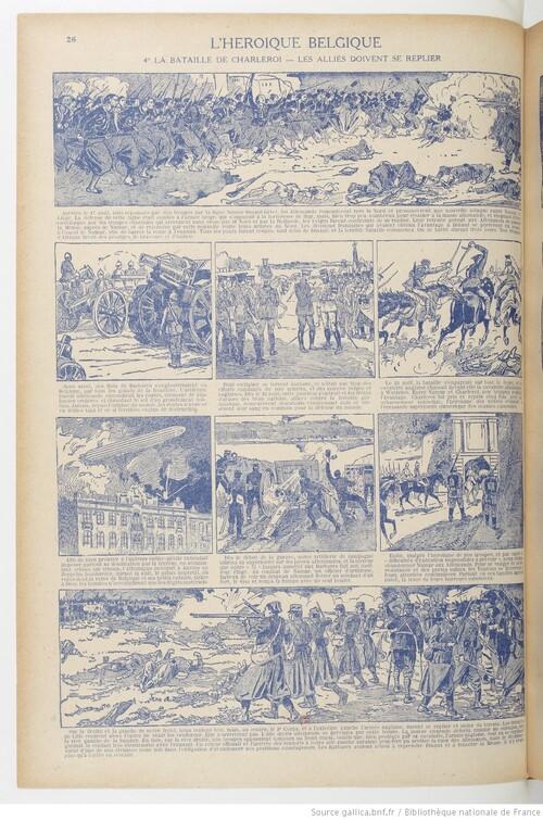 L'Histoire de la Grande guerre - L'héroïque Belgique. 5° La Belgique martyre (gallica)