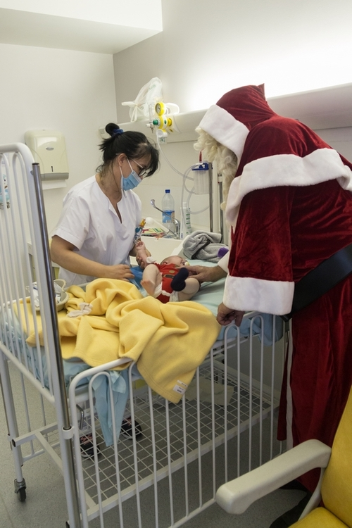 Noël 2017 en pediatrie et néonat