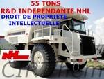 NHL-NORTH HAULER:  R&D indépendante, propriété intellectuelle.
