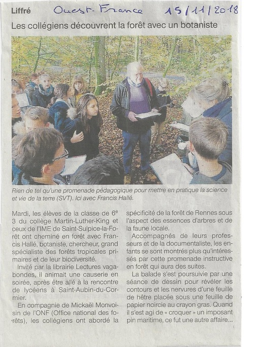 *Article Ouest-France