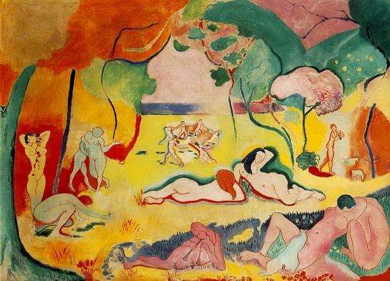 Henri Matisse, Le bonheur de vivre