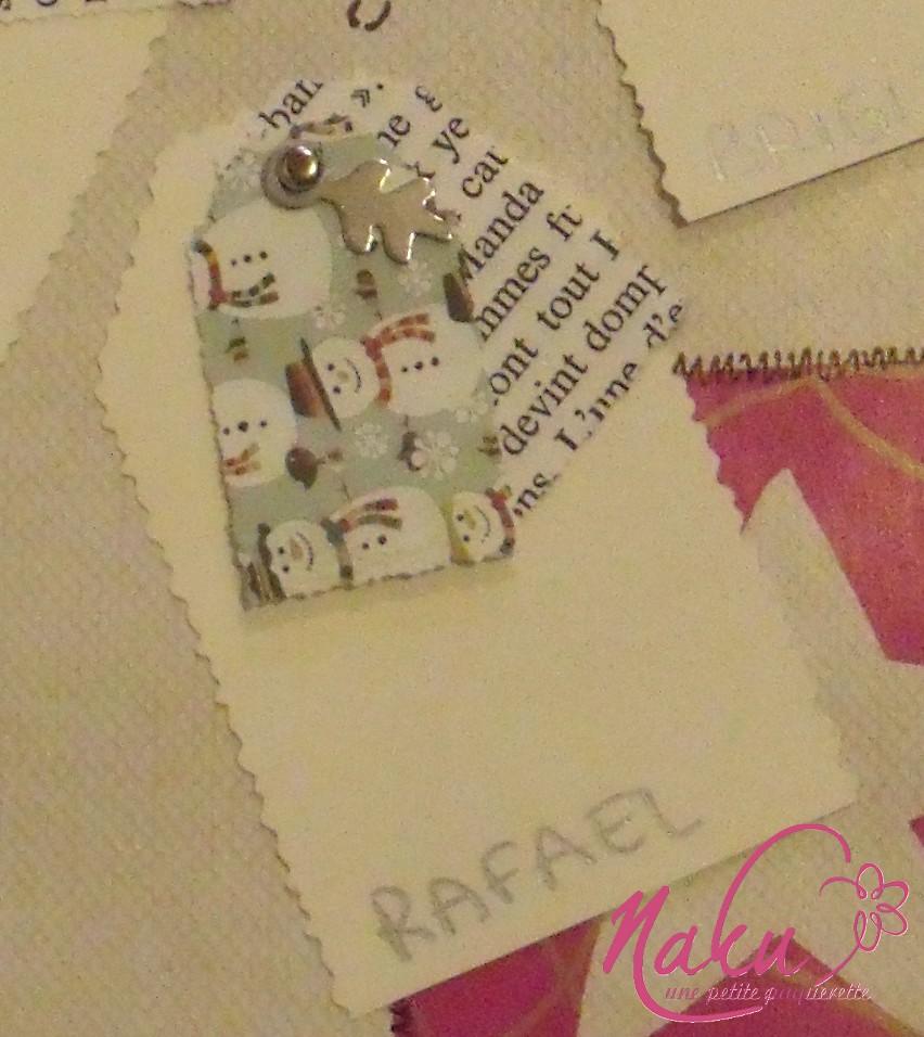 étiquettes pour noel