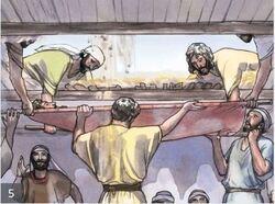 Jésus guérit un paralytique