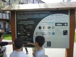 En selle... à la découverte de l'arboretum Robert Ruffier Lanche et du sentier planétaire Manuel Forestini...