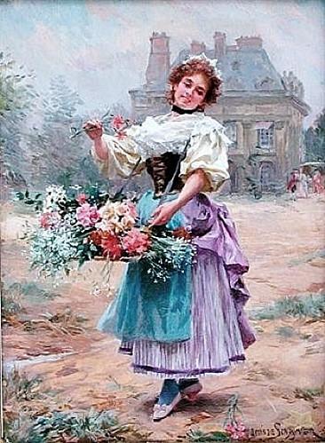z7 Louis Marie de Schryver (French artist, 1862-1942)