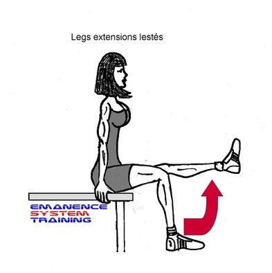 E.S.T Legs extensions lestés