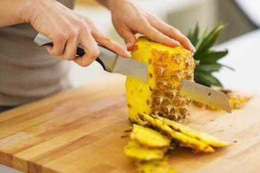 L'ananas dans un régime dépuratif