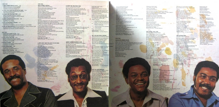 "The Four Tops : Album "" Main Street People "" ABC Dunhill Records DSX-50144 [ US ]"