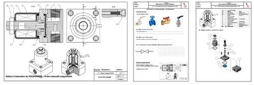 Exercice electro-valve
