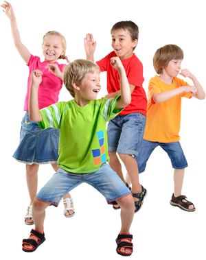 Les enfants chez marjolaine
