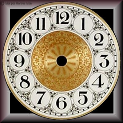 Tubes cadrants d'horloge 2958
