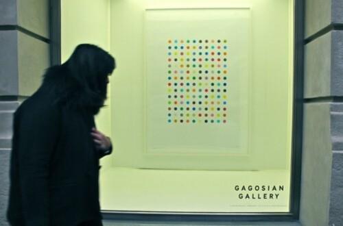Hirst Gagosian spot painting 3305
