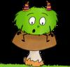 Dessin - Mystik's en automne - Les champignons