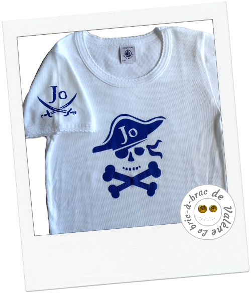 T-Shirt Jo le Pirate