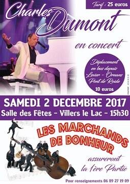 """♫Les concerts de décembre des """"Marchands de bonheur"""""""