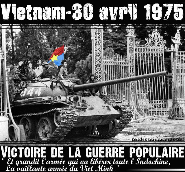 Un certain 30 avril 1975 à Saïgon...