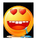Gros Emoticons Jaunes