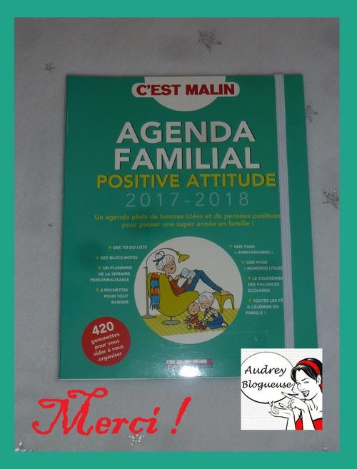L'Agenda Familial , Positive Attitude