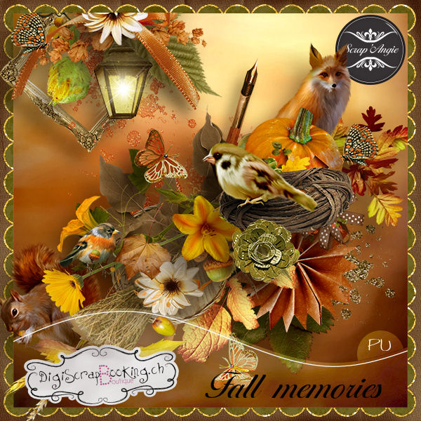 Fall mémories de Scrap'Angie