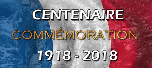 Signature de l'Armistique guerre 14-18 le 11 novembre 1918