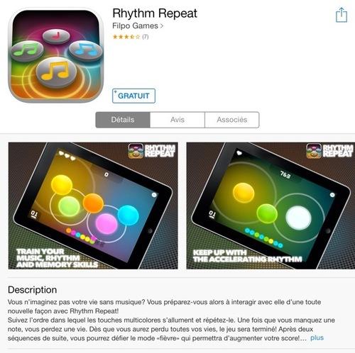 [appli] Rythm Repeat