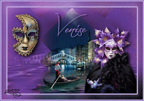 Variation carnaval à Venise