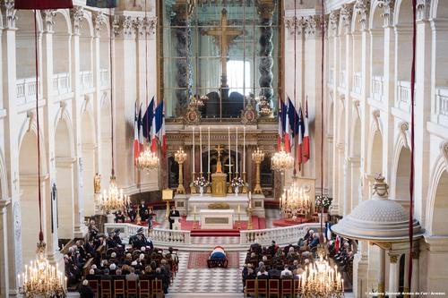 * Le dernier hommage à Claude Raoul-Duval aux Invalides (16 mai 2018)
