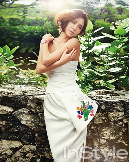 Hwang Jung Eum pour Instyle