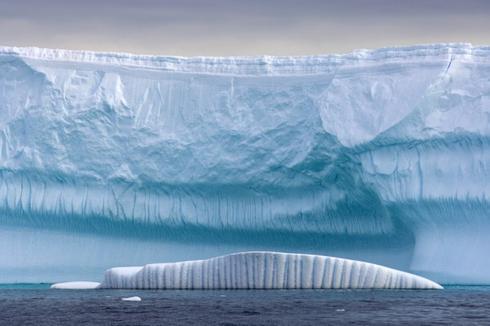 Glacier Antarctique océan austral