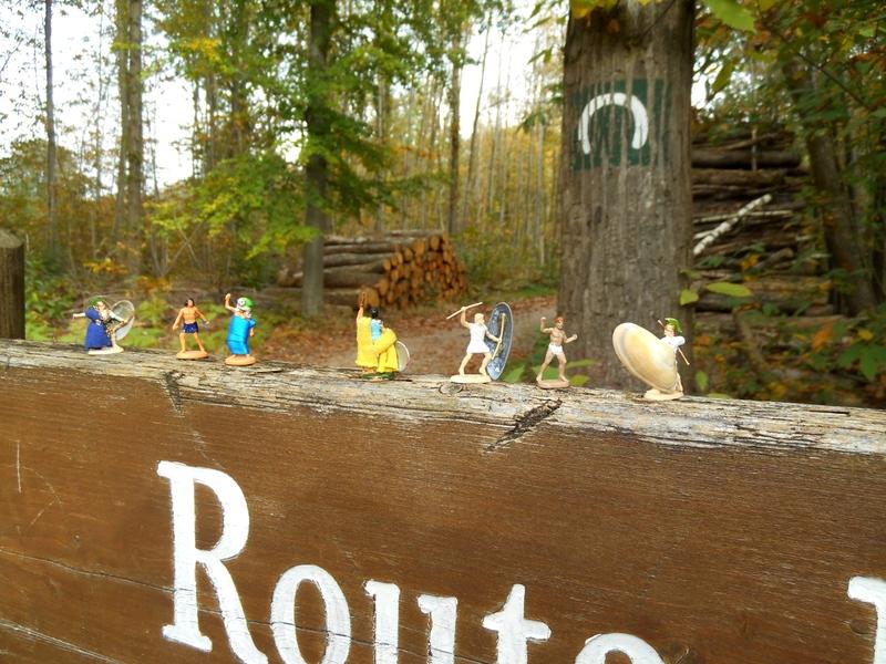 14 octobre 2017, les mini-gens remontent à l'assaut de la Forêt Enchantée