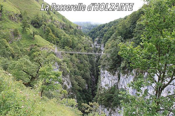 la passerelle d'Holzarte -1-