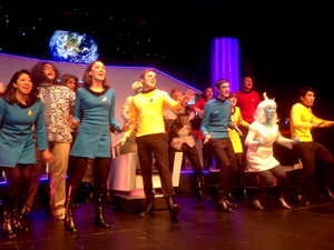 dance ballet startrek the musical bolgly go