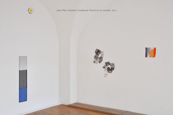 Saulnier Moschini et le meuble Glerie Point to point Studio