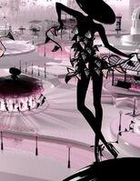 Publicité GUERLAIN La petite robe noire  parfum