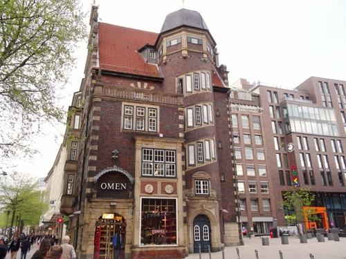 Hambourg: autour du Rathaus (photos)