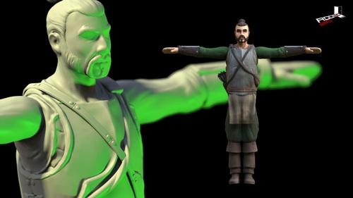 NEWS : The Hand of Merlin, journal de développement 18 :  les héros*