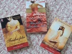 Trois nouveaux romans dans ma PAL