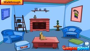Jouer à Locked blue room escape
