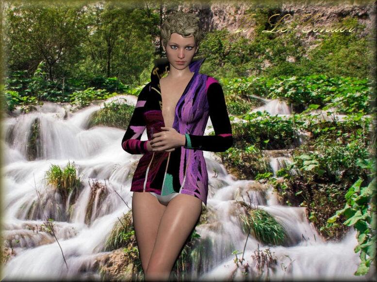 Série Haute-couture.....En 3d.... Le condor habille les dames même si parfois il les déshabille.