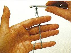 Position fil main gauche