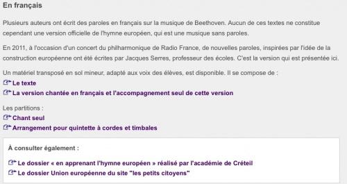 """L'union Européenne : site """" les petits citoyens"""""""